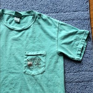 Southern Fried Cotton Pocket Tee